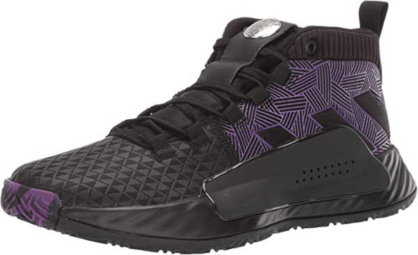 best basket ball shoes for ankle support - Adidas Men's Dame 5 Basketball Shoe