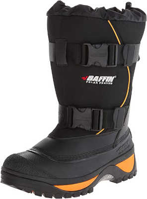 best ice fishing boots - Baffin Men's Wolf Winter Boots ice