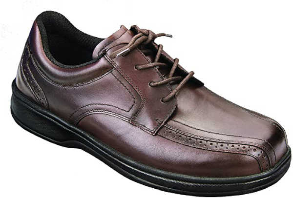 Best shoes for sciatica - Orthofeet Men's Oxford Shoes
