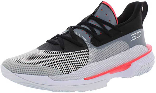 best basketball shoes for ankle support - Under Armour Men's Curry 7 Basketball Shoe