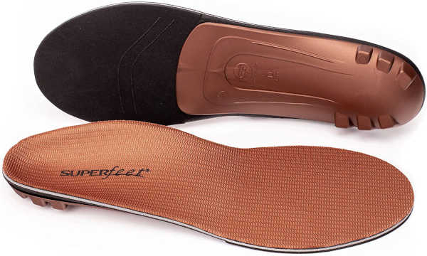 best insoles for work boots. -Superfeet Copper Memory Foam Insoles